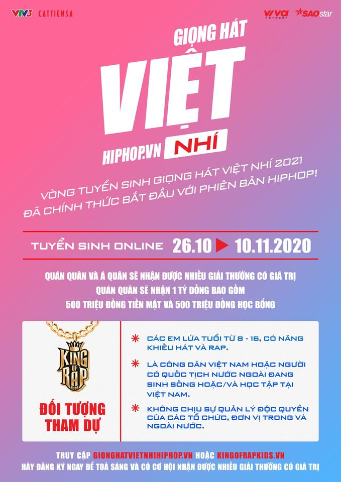 Giọng hát Việt nhí 2021