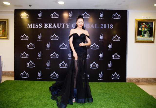 Image result for Thời trang Nhật Phượng tài trợ cho cuộc thi Miss Beauty Global 2018